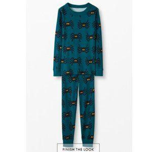 Hanna Andersson Long John Pajamas Spooky Spiders